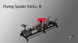 Flying Spider Kicks, R