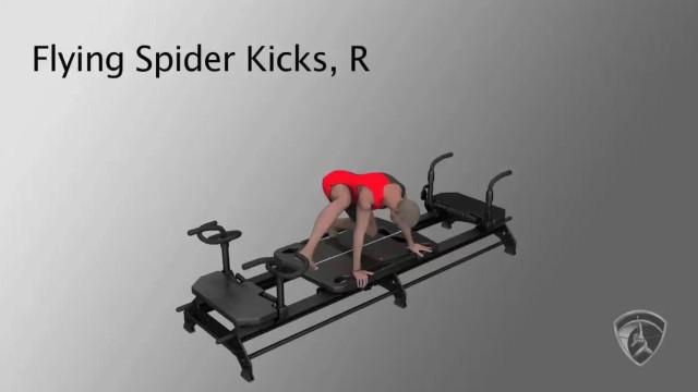 Flying Spider Kicks, R