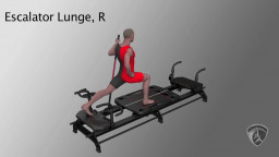 Escalator Lunge, R