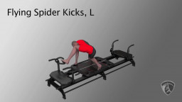 Flying Spider Kicks, L