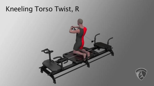 Kneeling Torso Twist, R