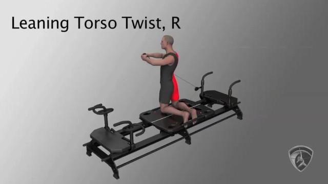 Leaning Torso Twist, R