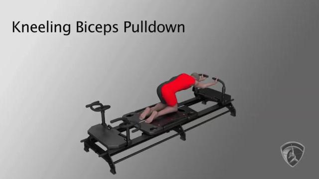 Kneeling Biceps Pulldown