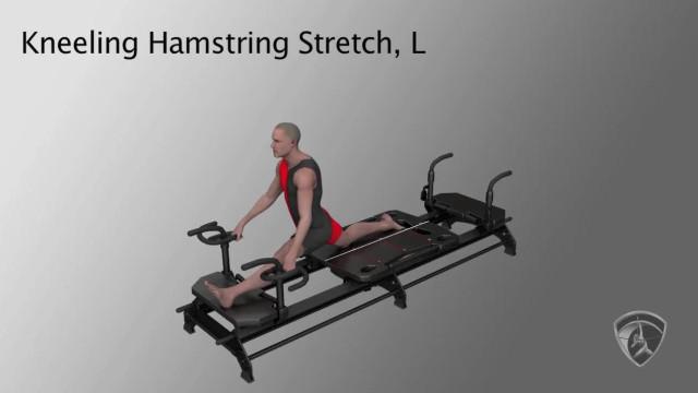 Kneeling Hamstring Stretch, L