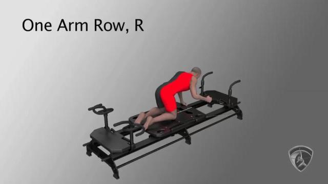 One Arm Row, R
