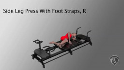Side Leg Press With Foot Straps, R