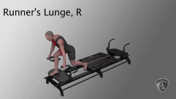 Runners Lunge, R