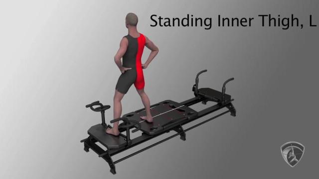 Standing Inner Thigh, L