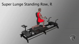 Super Lunge Standing Row, R