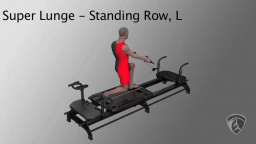 Super Lunge Standing Row, L