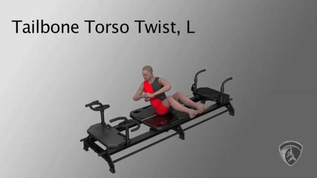 Tailbone Torso Twist, L