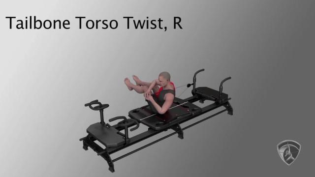 Tailbone Torso Twist, R