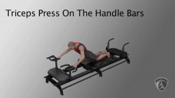 Triceps Press On The Handle Bars