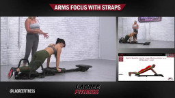 Microformer workout with Siobhan Arms focus with straps
