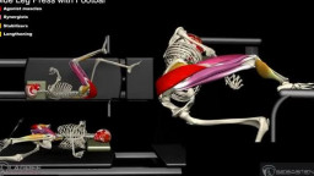 Side Leg Press with Footbar