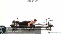 Tricep Extension - Lying on the Stomach