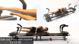 Side Leg Press with the Footbar