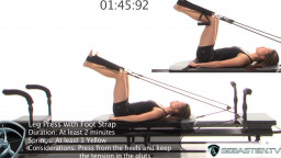 Leg Press with Foot Strap