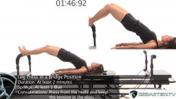 Leg Press in a Bridge Position