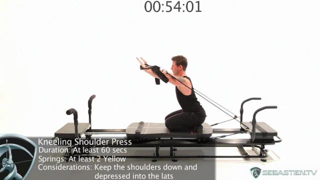 Kneeling Shoulder Press