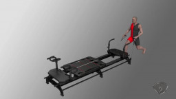 Stationary Lunge, R